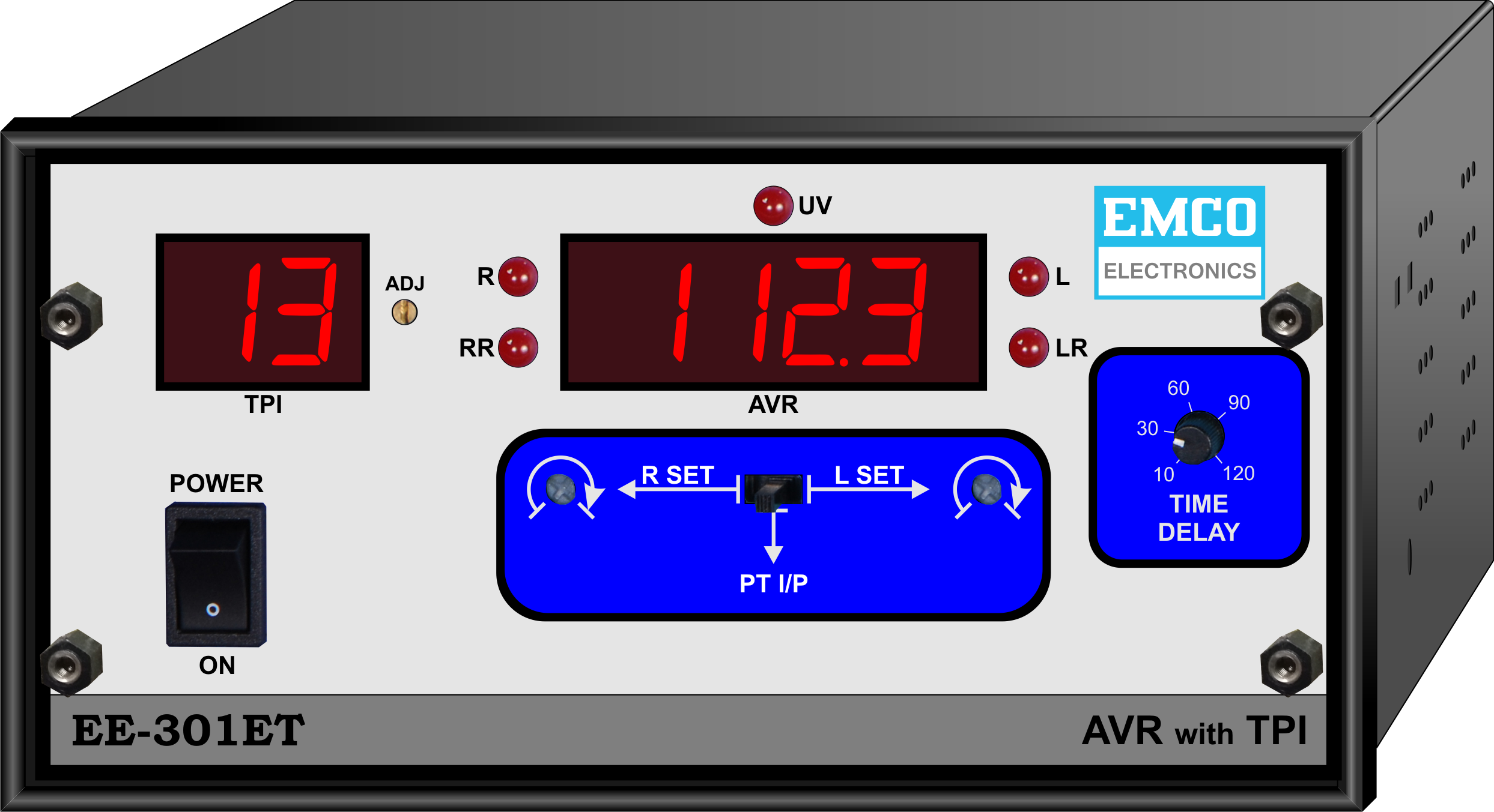Emco Electronics Ee 301et Economy Avr With Tpi Relay Circuit Automatic Voltage Regulating