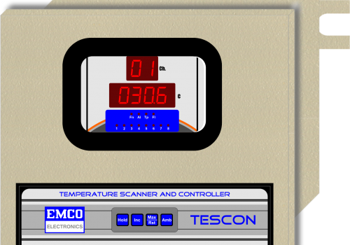 EE-803 ( Temperature Scanner and Controller)